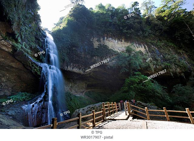 Nantou,Shanlinxi Forest Recreation Area,Song Luang Yan Waterfall