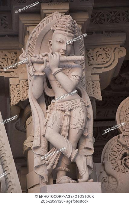 Carved sculpture, BAPS Swaminarayan Mandir Katraj, Pune