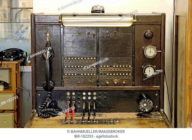 Former castle Stegersbach Burgenland Austria telefon telegraph museum