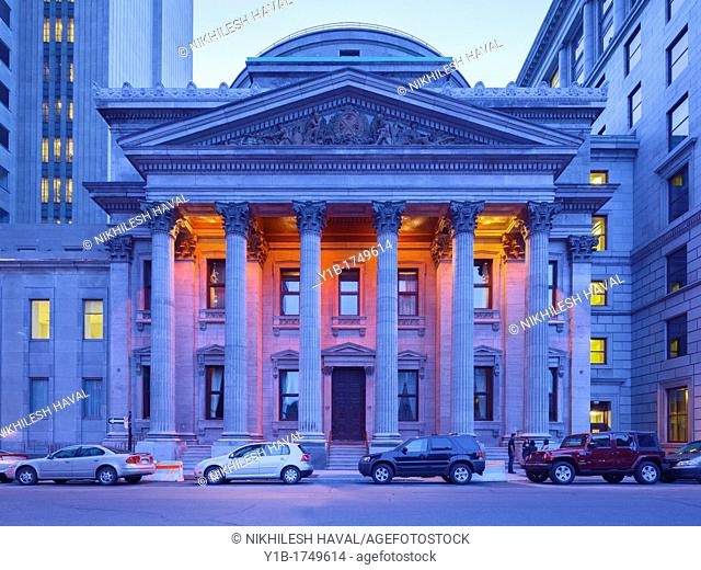 Bank of Montreal Head Office, Vieux Montreal