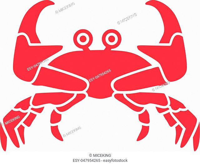 Crab with eyes