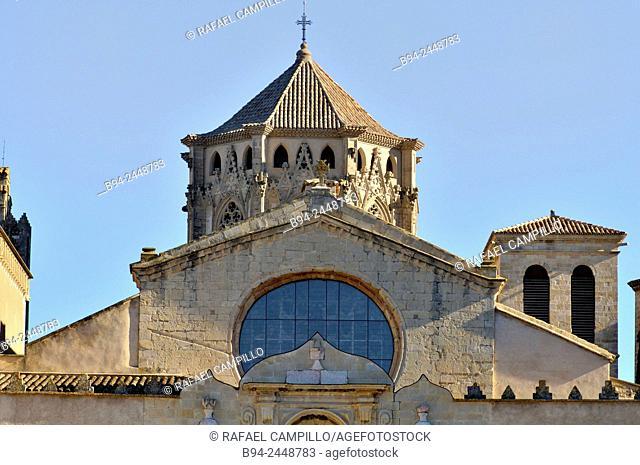 Cistercian Royal Abbey of Santa Maria de Poblet, Cistercian or Monestir de Santa Maria de Poblet, Poblet Monastery, founded in 1151
