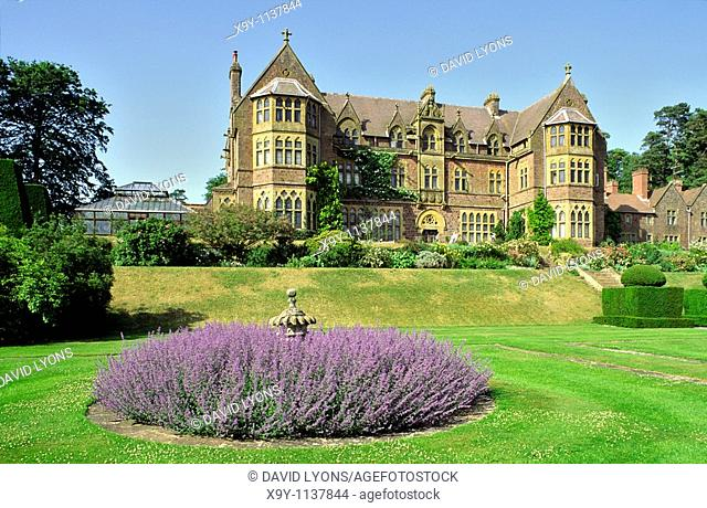 Knightshayes Court  Victorian Gothic Revival style country house near, Tiverton, Devon, England  Built 1869