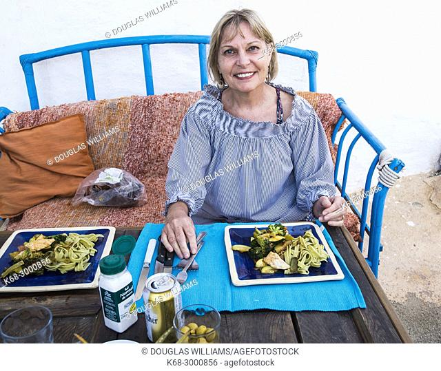 dinner in Cabo de Gata, Almeria, Spain