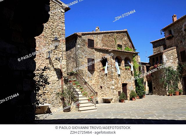 Montemerano, Manciano, Grosseto, Tuscany, Italy, Europe