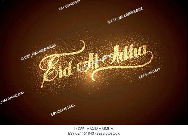 Eid Al Adha shiny label