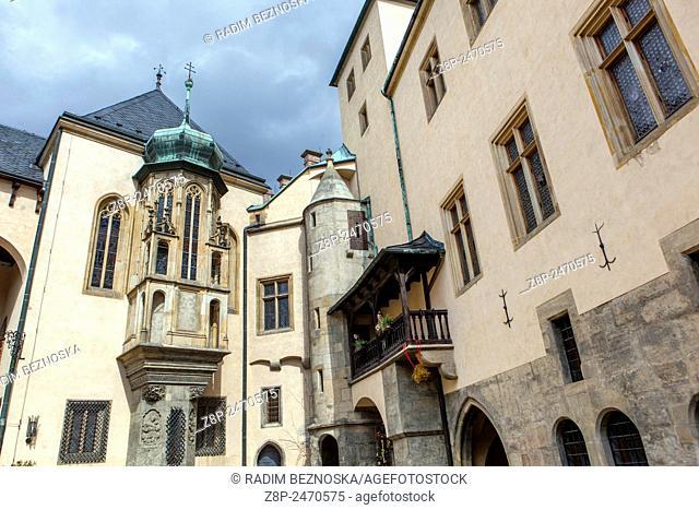 Italian Court, Kutna Hora,UNESCO, Bohemia, Czech Republic