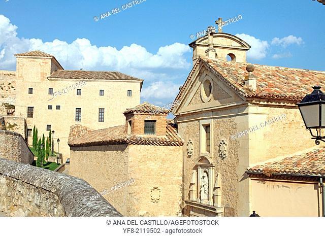 Las Carmelitas convent is now a museum of contemporary art Antonio Perez foundation in Cuenca Spain