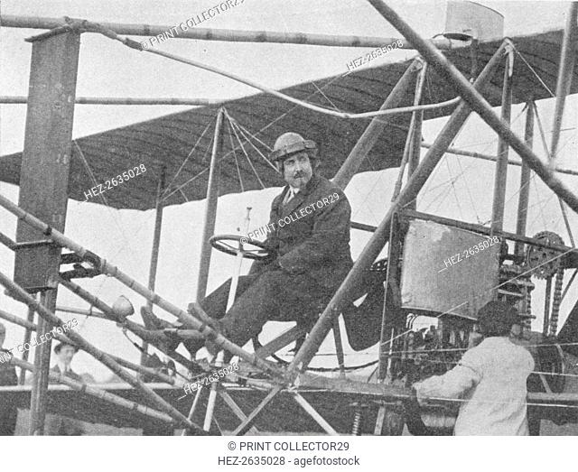 Samuel Franklin Cody, American aviation pioneer, 1913 (1934). Artist: Flight Photo
