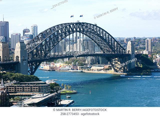 View of the Sydney Harbour Bridge,New South Wales,Australia