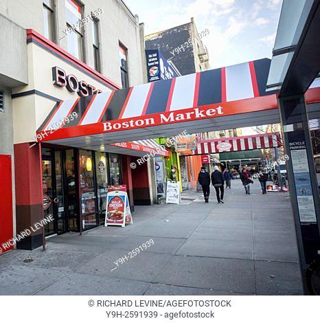 A Boston Market restaurant in New York