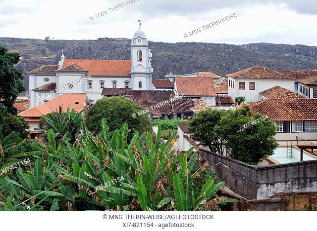 Catedral de Santo Antonio, Cathedral, Diamantina, UNESCO World Heritage Site, Minas Gerais State, Brazil Catedral de Santo Antonio, Cathédrale, Diamantina