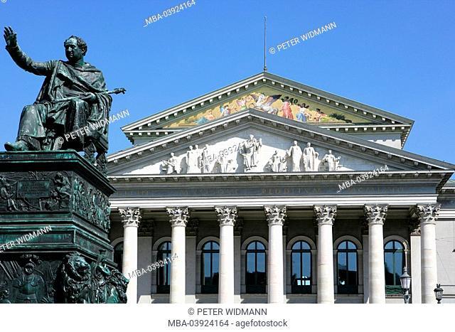 Germany, Bavaria, Munich, national-theaters