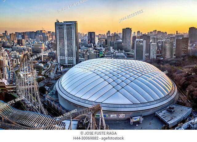 Japan, Tokyo City, Bunkyo Ward, Tokyo Dome Bldg