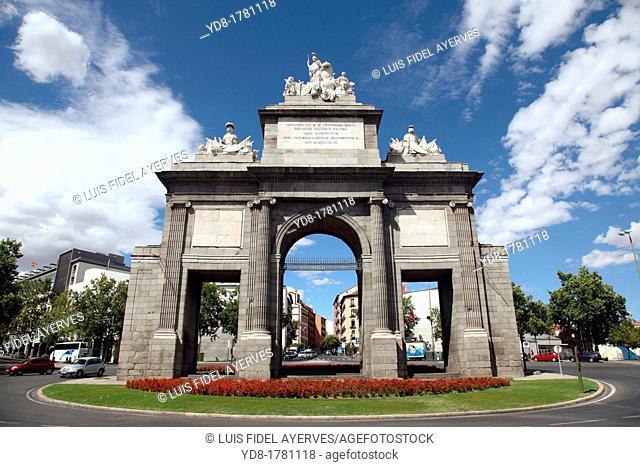 Puerta de Toledo, Madrid, Spain, Europe