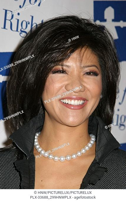 """Julie Chen 03/10/08 """"""""The Alliance For Children's Right Honors Nina Tassler At 15th Anniversary Awards Gala"""""""" @ The Beverly Hilton Hotel"""