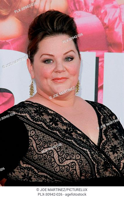 Melissa McCarthy at the Premiere of Universal Pictures' Bridesmaids. Arrivals held at Mann Village Theatre in Westwood, CA, April 28, 2011