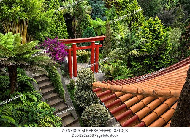 Monte Palace Tropical Garden Japanese garden - Monte, Madeira, Portugal
