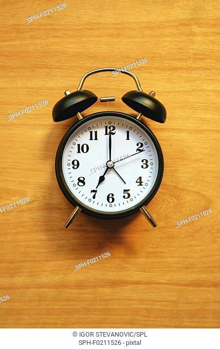 Vintage alarm clock