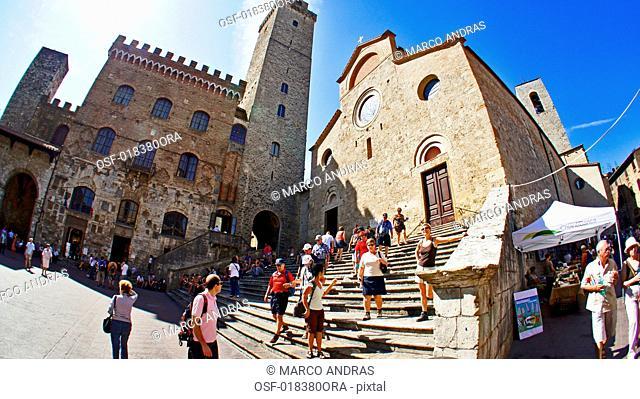 Italy, San Gimignano