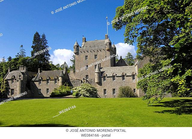 Cawdor Castle near Inverness. Northern Highlands, Scotland, UK