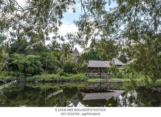 Sarawak Cultural Village, Damai, Malaysia