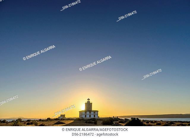 Lighthouse, Tabarca Island, Alicante, Spain