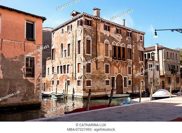 Venice, Cannaregio, Fondamenta Gasparo Contarini