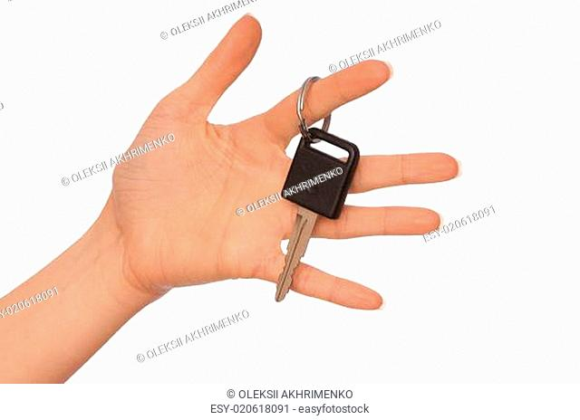 Key from the new car