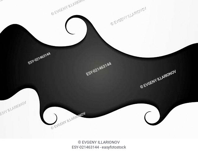 Abstract wavy concept vector background