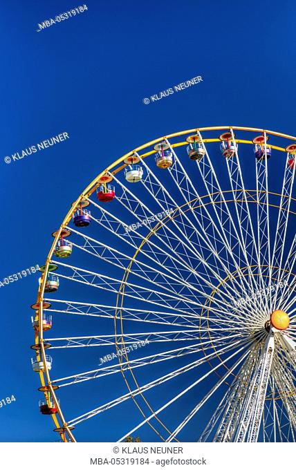 Big wheel, Bordeaux, France, Europe