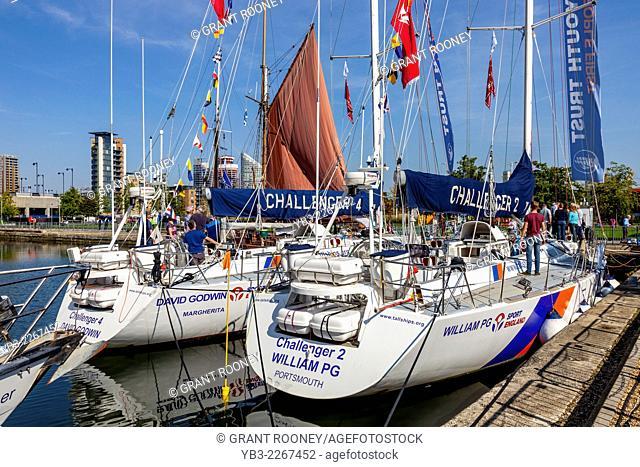 Tall Ships Festival, Canary Wharf, London, England