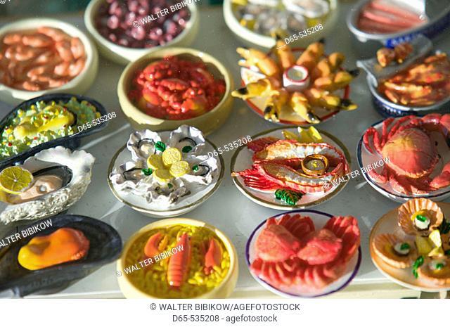 Food Themed Fridge Magnets, Taormina. Sicily, Italy