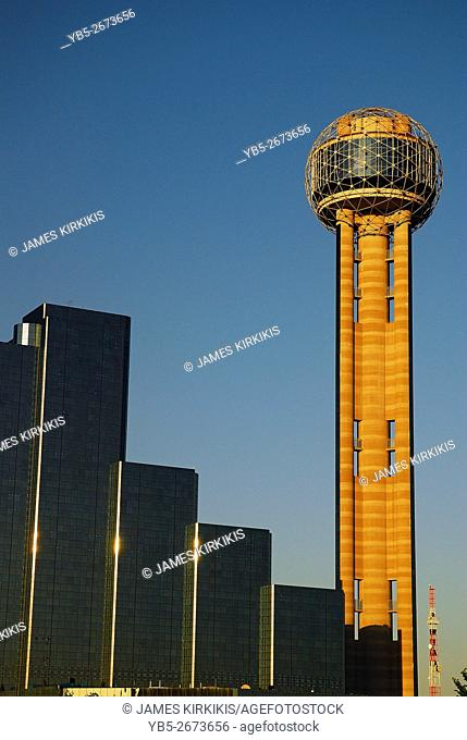 The Reunion Tower, Dallas Texas