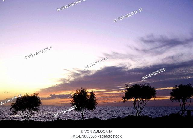 Greece, Dodecanese, Patmos, sunset