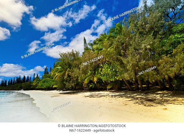 Oure Tera Beach Resort, Bay of Kanumera, Ile des Pins Isle of Pines, New Caledonia