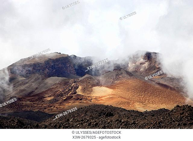 El Pico Viejo volcano, Tenerife island, Canary archipelago, Spain, Europe