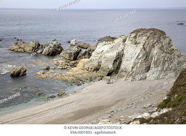 Rocks on Carro Beach; Galicia; Spain;
