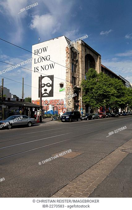 Kunsthaus Tacheles, artists' and event venue, Oranienburger Strasse Street, Mitte district, Berlin, Germany, Europe