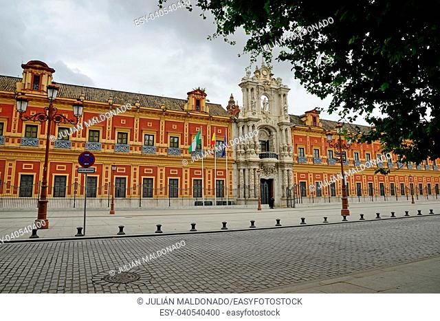 San Telmo Palace, baroque palace and seat of government, Seville