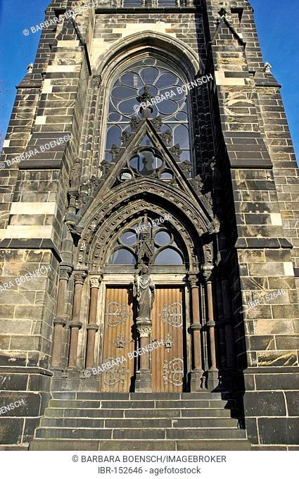 Christuskirche, Church of Cultures, Bochum, North Rhine-Westphalia, Germany