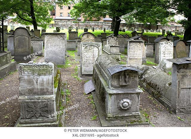 Jewish Cemetery, Kazimierz, Krakow, Poland