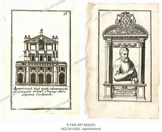 Illustrations from the Russian edition of The Five Orders of Architecture by Giacomo Barozzi da Vi Artist: Vignola, Giacomo Barozzi da (1507-1573)