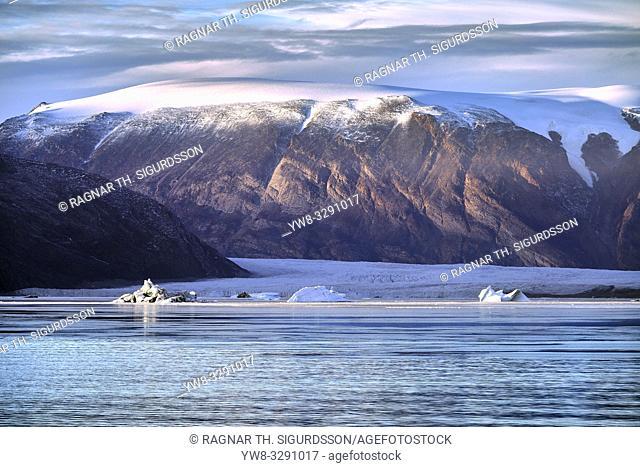 Glacial landscape, Scoresbysund, Greenland