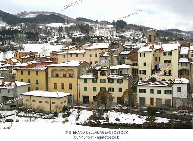 Town of Stia, Arezzo province, Casentino region. Tuscany, Italy