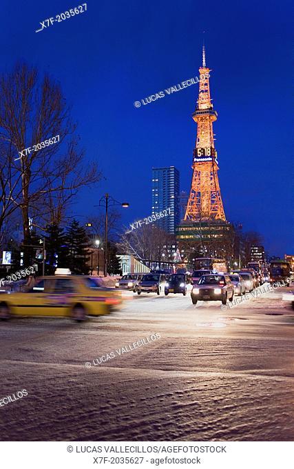 Odori,Sapporo TV Tower,Sapporo, Hokkaido, Japan