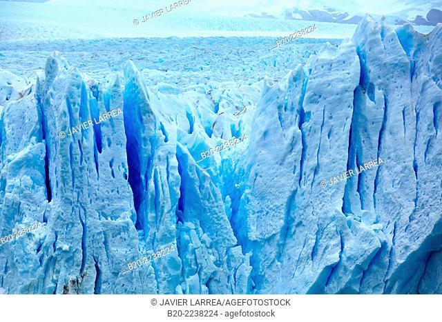 Perito Moreno glacier. Los Glaciares National Park. Near El Calafate. Santa Cruz province. Patagonia. Argentina