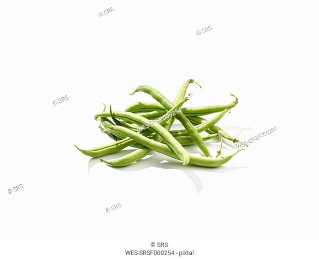Green beans, studio shot