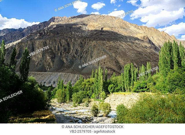Turtuk is the last village in Nubra Valle before the Pakistan border. Population here is muslim