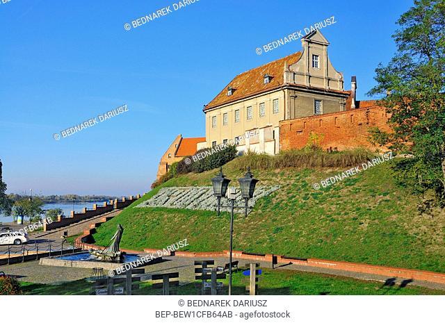 Wladyslaw Lega Museum in Grudziadz, city in Kuyavian-Pomeranian Voivodeship, Poland